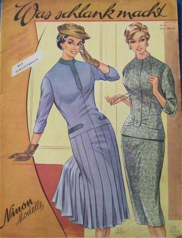Modekatalog 50er Jahre