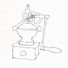 Alte Kaffeemühlen und ihre Technik