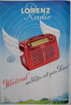 Lorenz Radio Werbung