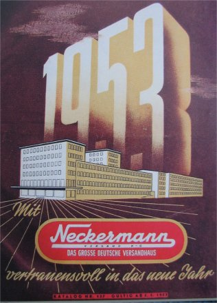 Neckermann Katalog von 1953