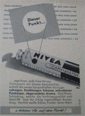 Nivea Zahnpasta