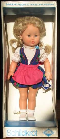 Schildkröt Puppe Sabine