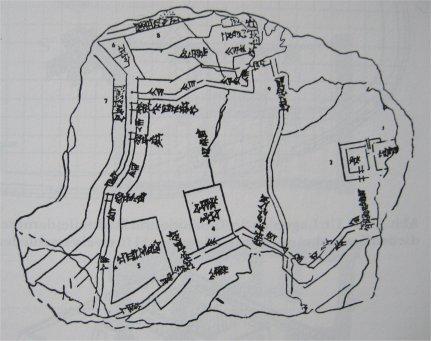 Stadtplan Nippur