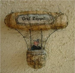 Zeppelin Christbaum Schmuck Weihnachtsbaum
