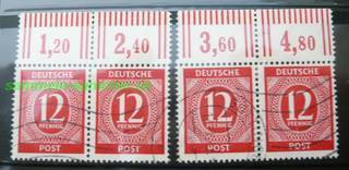 Briefmarkenbogen Deutsche Post