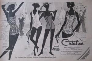 Alte Reklame von Catalina