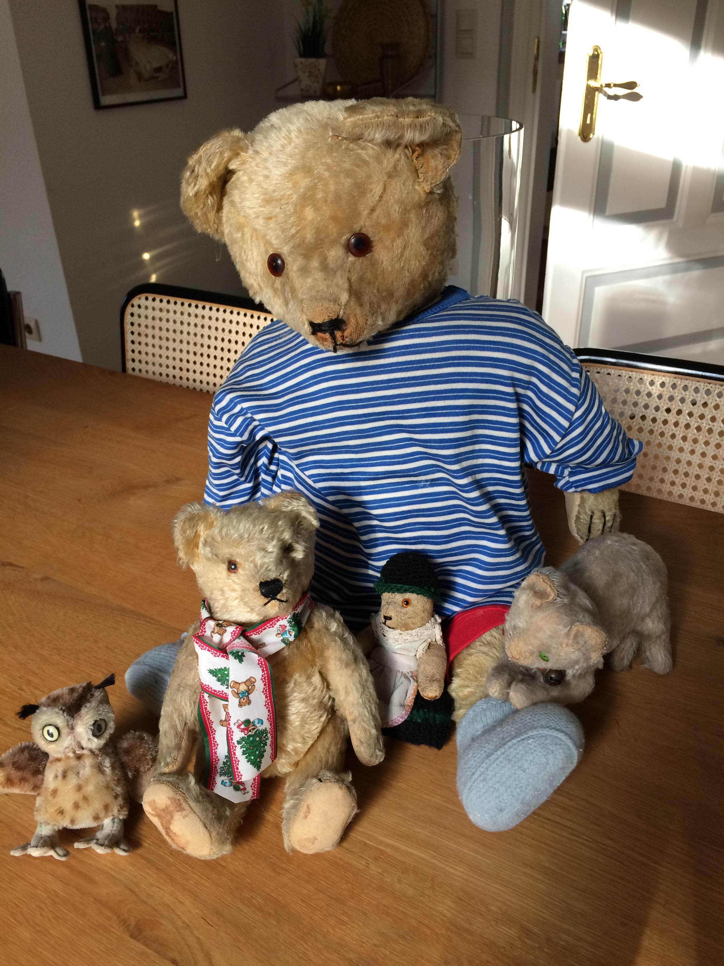 CLEMENS Teddy mit Brummstimme * ca beweglich Sammlerstück 29 cm