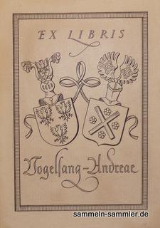 Exlibris frühes 20. Jahrhundert