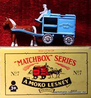 Moko Markenzeichen auf Lesney Packung