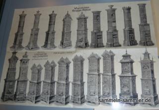 Katalog alte Öfen und gusseiserne Öfen