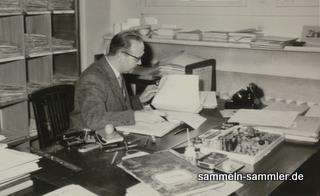 Typisches Beispiel eines 50er Jahre Büros