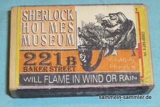 Streichholzschachtel Sherlock-Holmes-Museum London
