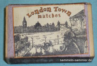 Streichholzschachtel aus London