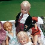 Zelluloid Puppen