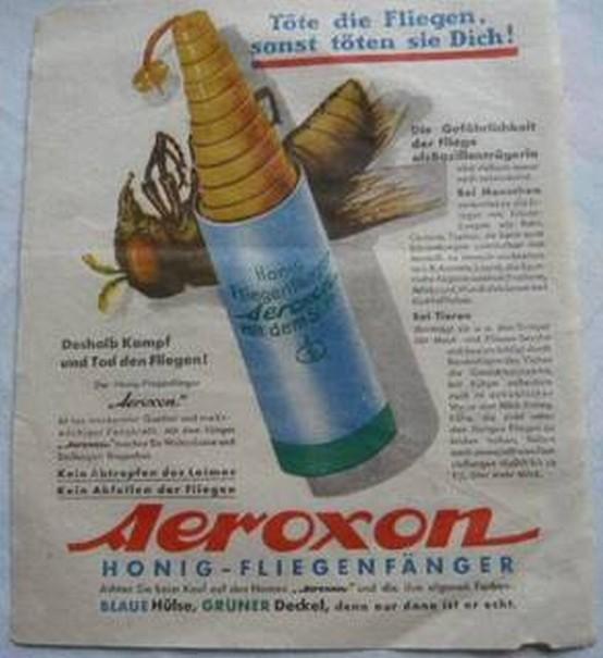 Alte Reklame von Aeroxon