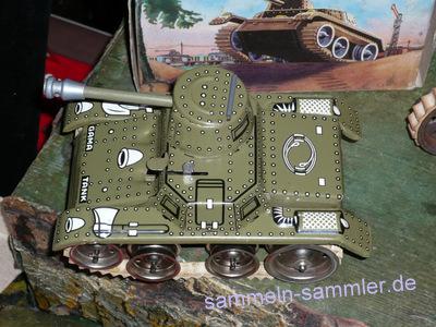 Blechspielzeug Marklin Blech Aufziehen 1930s Deutschland Uhrwerk Tank Spielzeug Tippco