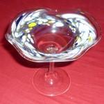 Glasschale aus Lauscha