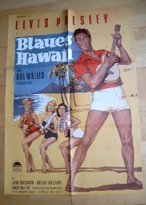 """Einer der vielen Filmplakate mit Elvis Presley """"Blaues Hawaii"""""""
