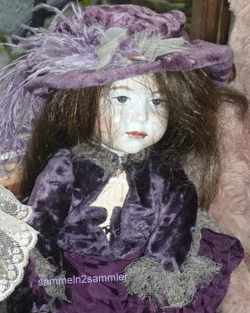 Puppen sammeln: hierzu gehört die Charakterpuppe Marie von Kämmer & Reinhardt