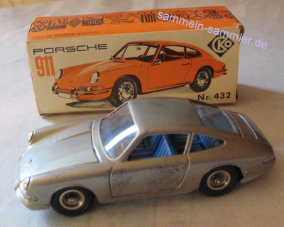 Blechspielzeug von Kellermann CKO, Porsche mit OK