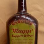 Große Maggiflasche 50er Jahre