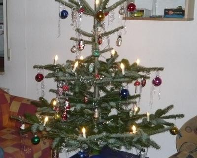 Weihnachtsbaum zu Weihnachten