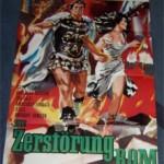 """Filmplakat """"Die Zerstörung von Rom"""""""