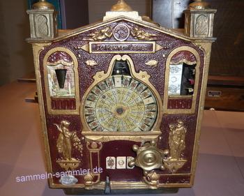 Alter Münzautomat, ein Anreiz zum Sammeln