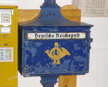 Briefkasten der Deutschen Reichspost - lohnt sich zu sammeln