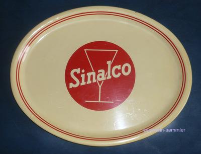 Eines der üblichen Blechschilder von Sinalco Cola