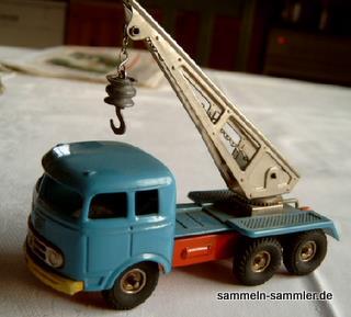 Für kleine und für große Sammler: Kellermann Kranwagen