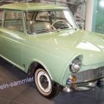 Der Oldtimer DKW Junior in unnachahmlichem hellgrünen Farbton