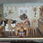 Bäuerliche Wohnküche um 1930