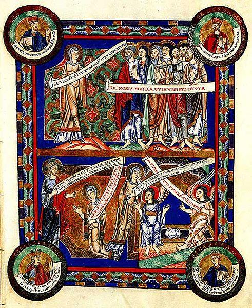 Eines der bekanntesten aus dem Bereich alte Bücher: Das Evangeliar von Heinrich dem Löwen