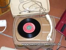 Koffer Plattenspieler der 50er Jahre