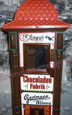 Schokoladen-Automat