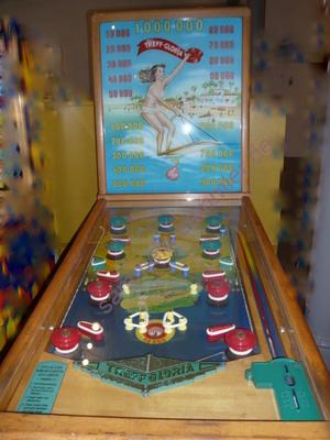 alter Flipperautomat
