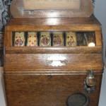Einer der Automaten für das Glücksspiel, Pokerautomat