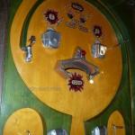 Detail des Flipperautomates