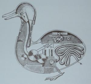 Die Vaucanson-Ente, einer der phantastischen Automaten