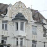 Hausfassade im Jugendstil
