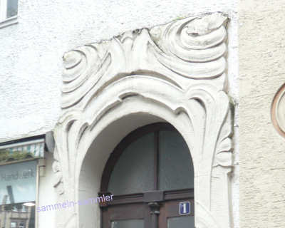 Jugendstil Hauseingang in Kassel