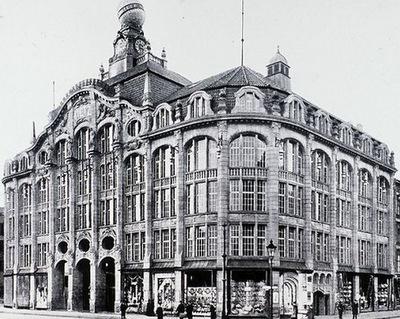 Kaufhaus Tietz im Stil der Gründerzeit
