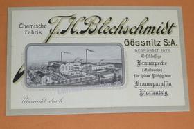 Eine von vielen Visitenkarten nach 1900