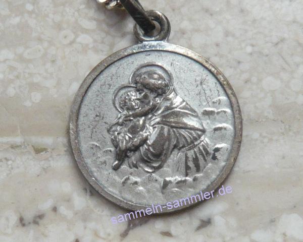 Amulette: Medaille des Heiligen Christophorus