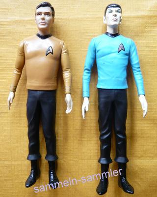 Kirk und Spock vom Raum Raumschiff Enterprise