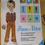 Aus dem unendlichen Bereich alte Spiele: Hans-Peter, die magische Ankleidepuppe