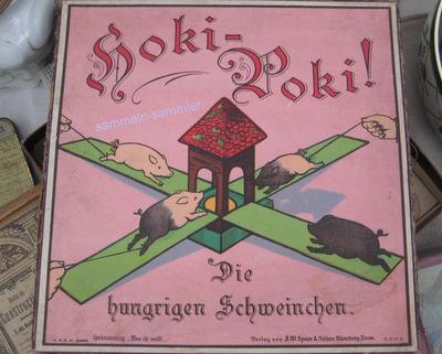 Aus der Sammlung alte Spiele :Hoki-Poki