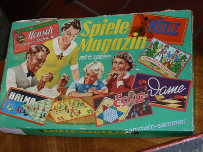 Alte Gesellschaftsspiele