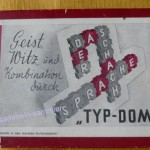 Alte Spiele: Scrabble Typ-Dom